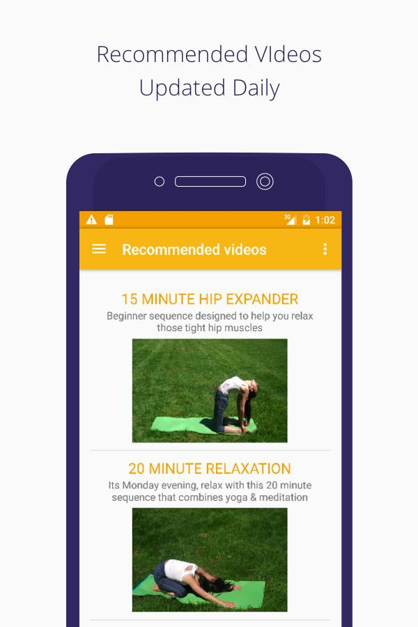 yogatailor -  personal yoga video trainer- screenshot