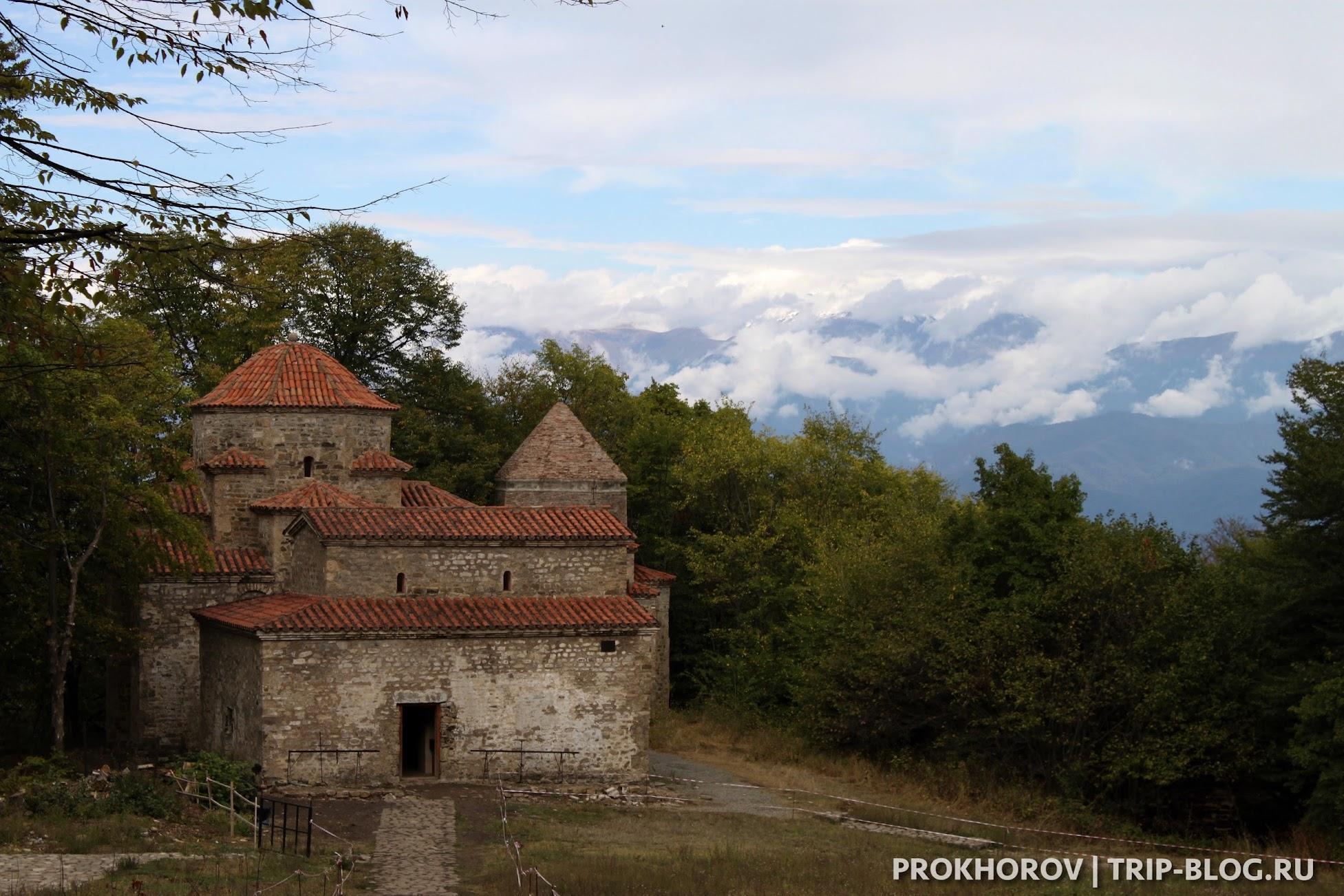 Монастырь Старая Шуамта