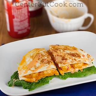 Bang Bang Shrimp Quesadillas Recipe