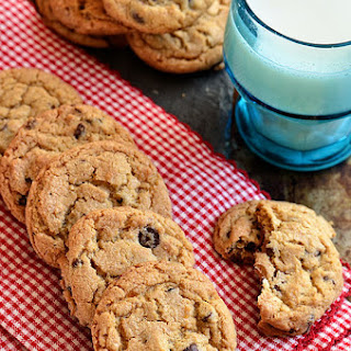 Candied Bacon & Bourbon Chocolate Chip Cookies