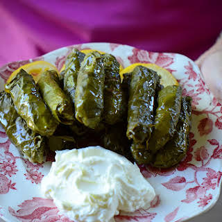 Lebanese Grape Leaf Rolls.