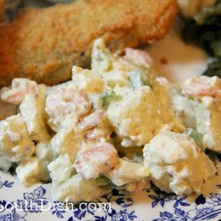 Seafood Potato Salad.