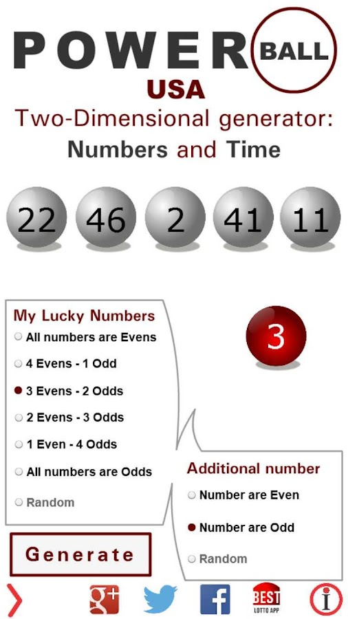 Lotto Winner for Powerball- screenshot