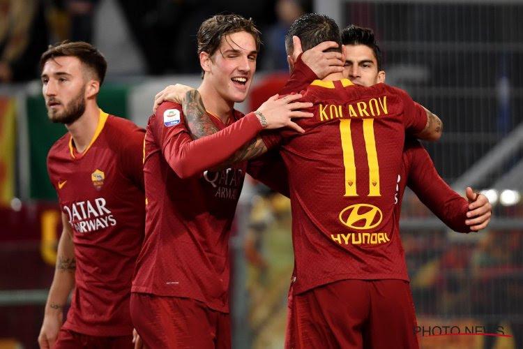 La Roma s'impose à la Samp' et continue à rêver de Ligue des Champions