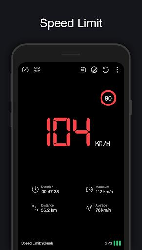 Speedometer : GPS, Distance Meter, HUD ss2