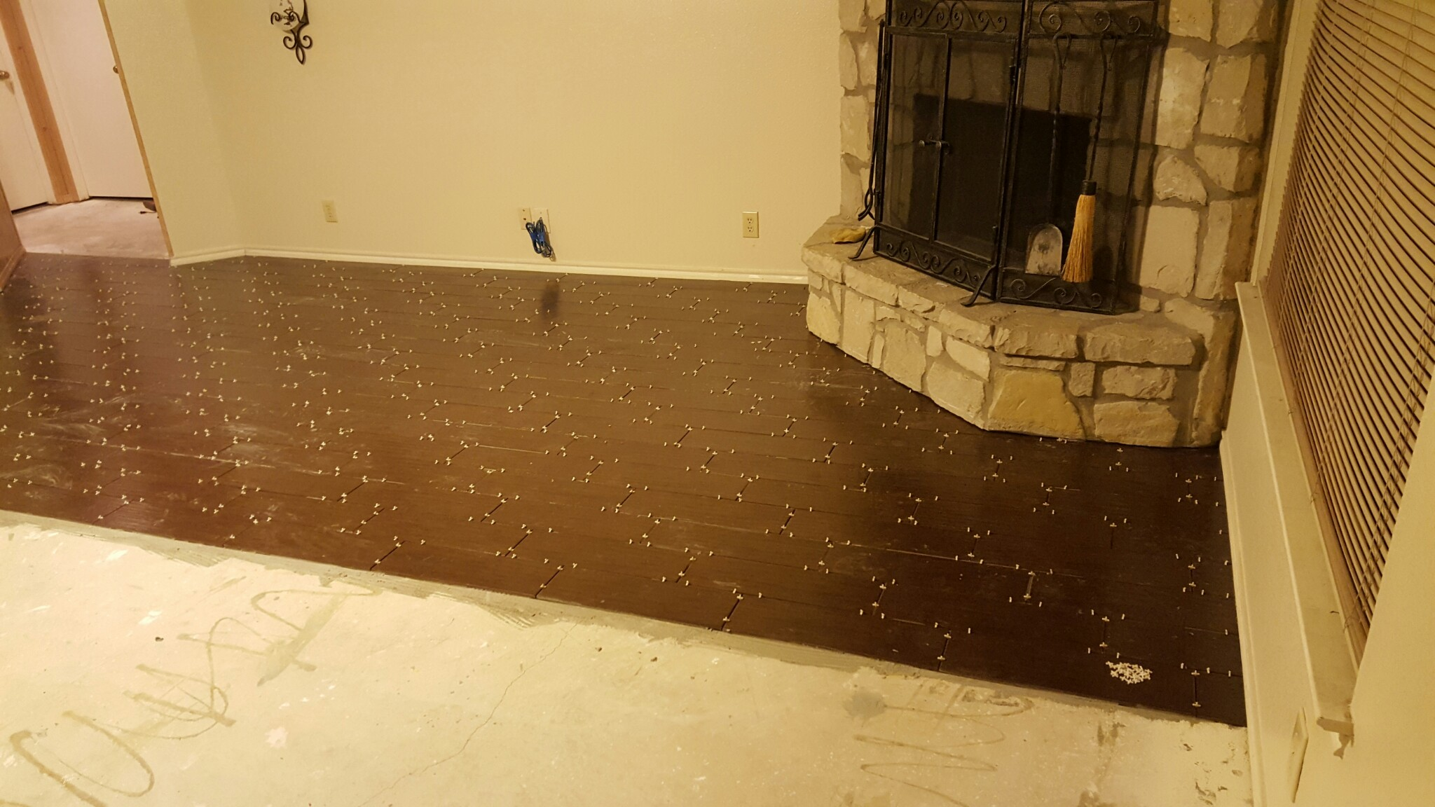 San Antonio Texas Custom Flooring - Wood Plank Porcelain Flooring