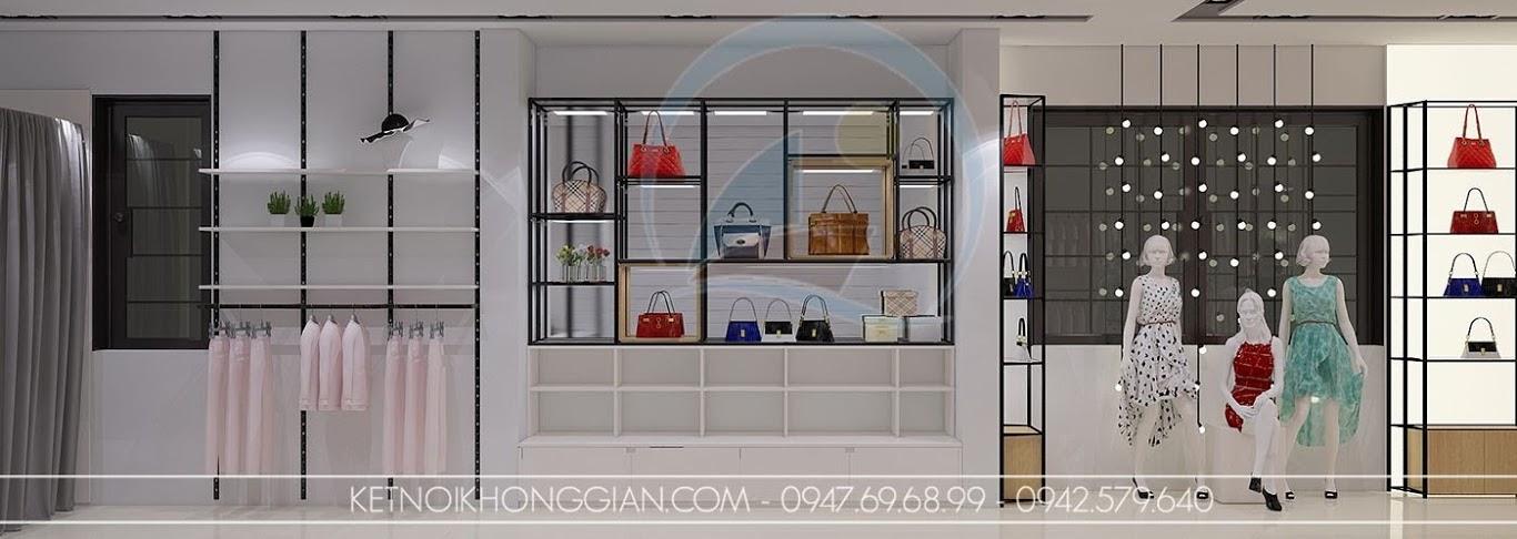 thiết kế shop thời trang đẹp và độc đáo