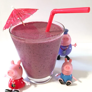 Diet Banana Berry Smoothie Recipe