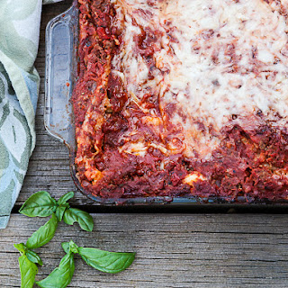 Lasagna With Vegetables And Meat Recipes