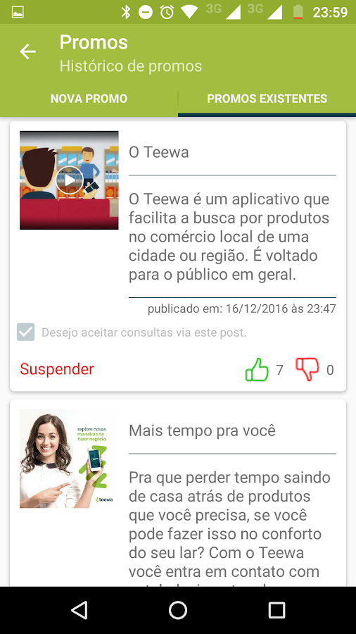 Teewa- screenshot