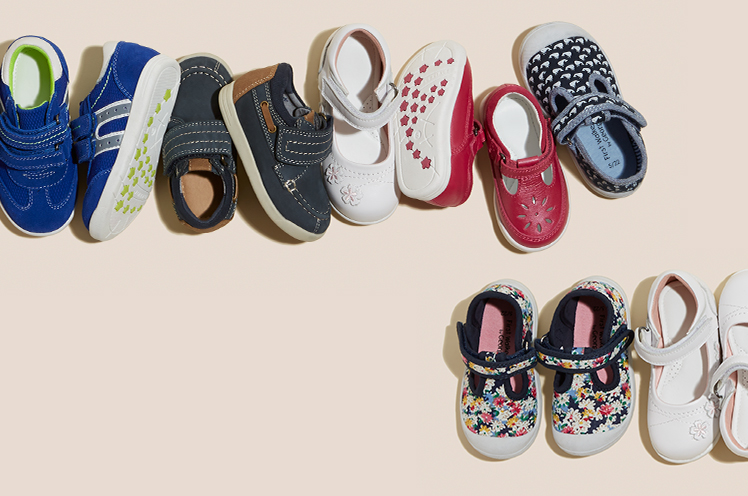 Find your little one's first pair of shoes with our First Walkers collection at George.