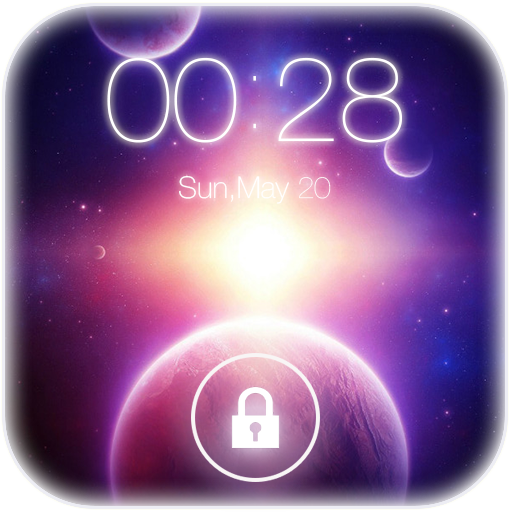 3D Earth Lock Screen