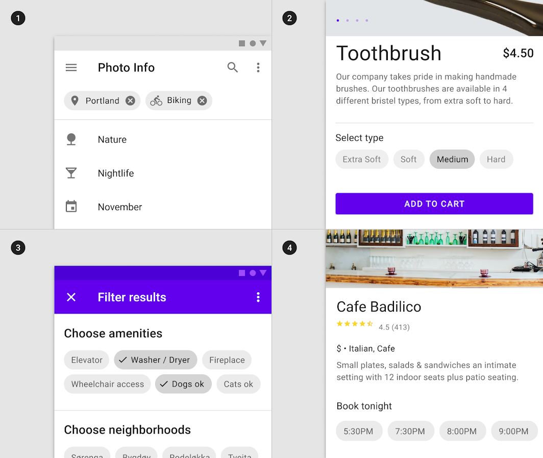 Chips   Material Design