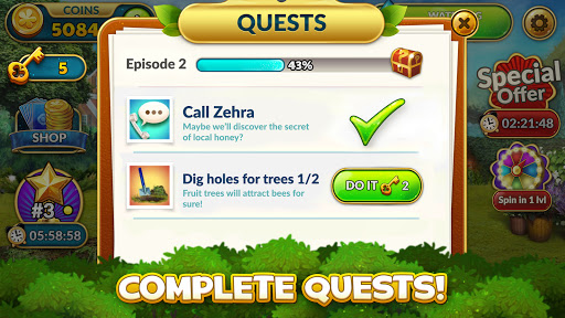Solitales: Garden & Solitaire Card Game in One 1.105 screenshots 5