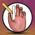 Manus - Hand pose tool icon