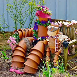Potting around. by Peter DiMarco - Artistic Objects Other Objects ( artistic objects, ceramics, pottery, art, artistic )