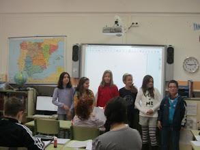 Photo: Alumnes candidats al Consell Escolar