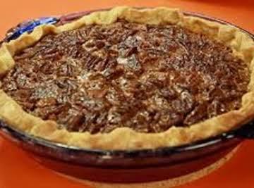 Sorghum Pecan Pie