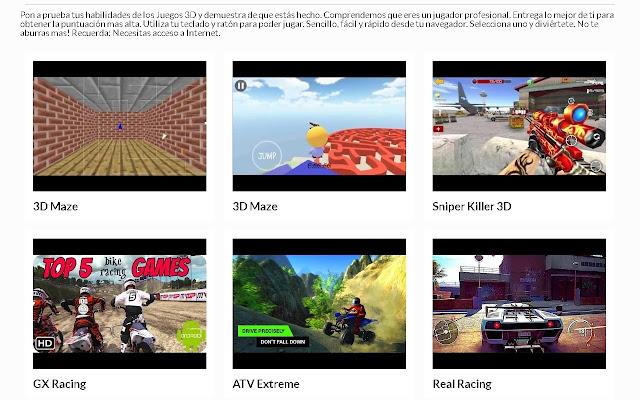Juegos 3D | AppbBack.pw