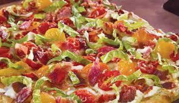 Pizzeria Perfect Blt Pizza- My Own Recipe