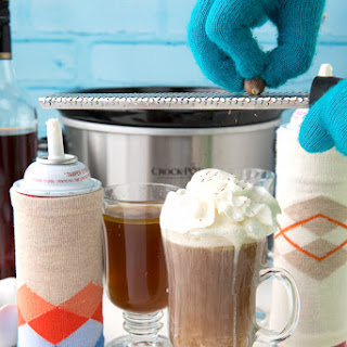 Slow Cooker Hot Buttered Rum (with mocktail option)