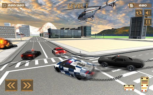 Extreme police GT car driving simulator 8