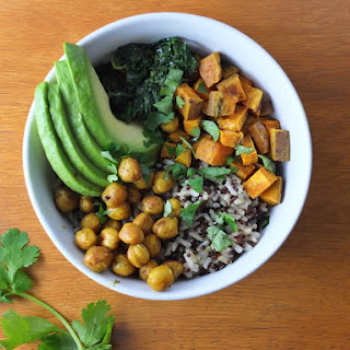 Curry Quinoa Buddha Bowl with Coconut Creamed Kale Recipe