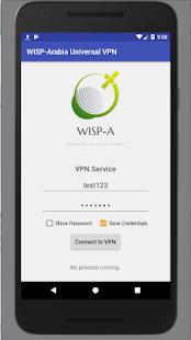 WISP-Arabia Network VPN - náhled