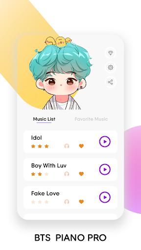 BTS Tiles: Kpop Magic Piano Tiles - Music Game apkmind screenshots 1