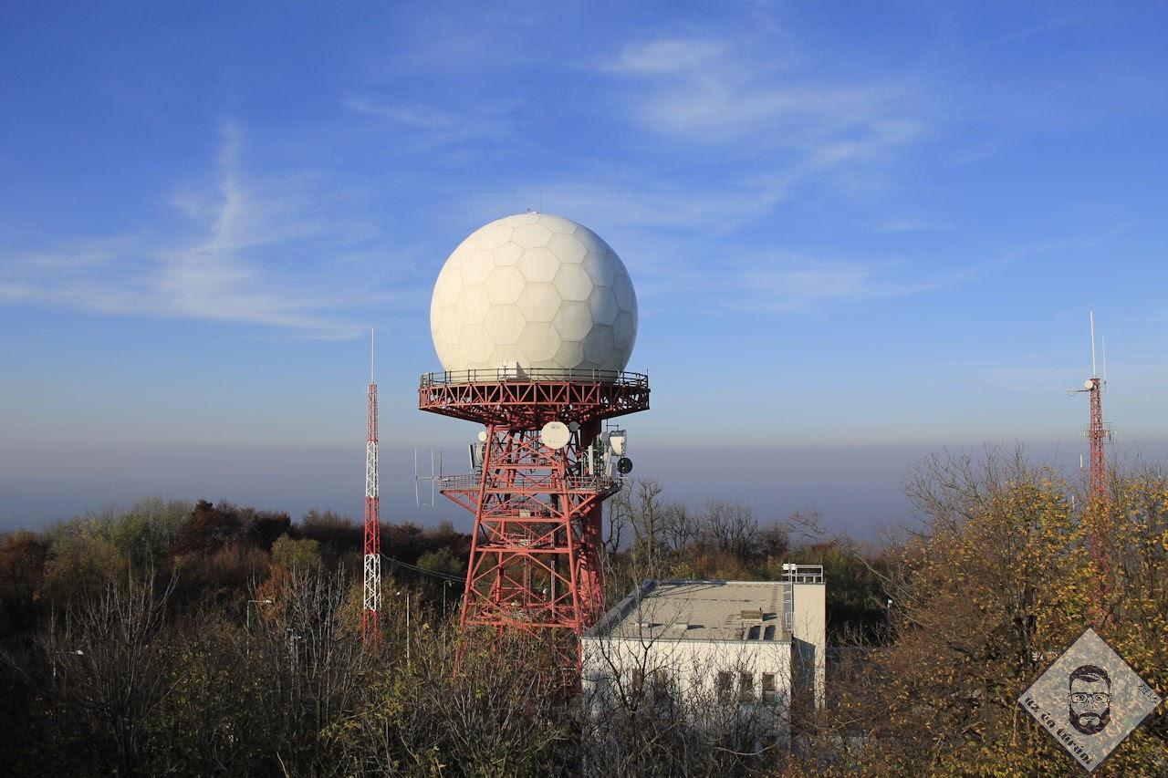 KÉP / Radarállomás szinte karnyújtásnyi távolságban
