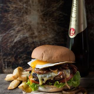 Loaded Beef Hamburgers Recipe