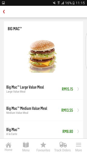 McDelivery Malaysia  screenshots 6