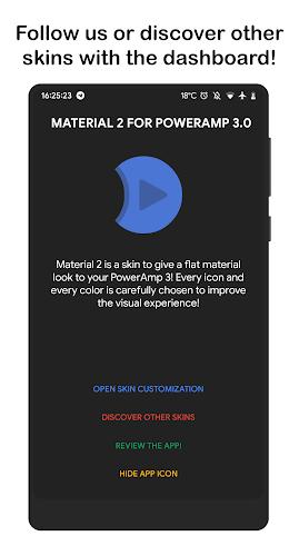 Download Material2 ⚡️ PowerAmp v3 Skin APK latest version