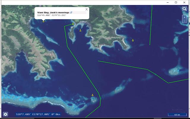 Atlas of Fiji for mariners