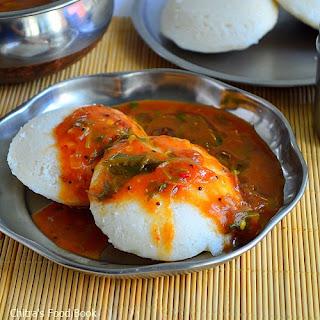 Tomato Brinjal Sambar.