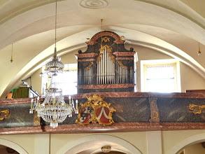 Photo: Ohišje/Gehäuse/Case: Franz Xaver Schwarz, 1770; Orgle/Orgel/Organ: Hopferwieser, 1911/1957