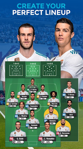 Real Madrid Fantasy Manager'18- Real football live 7.30.004 screenshots 2