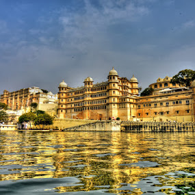 Udaipur City Palace by Rakesh Das - Buildings & Architecture Architectural Detail