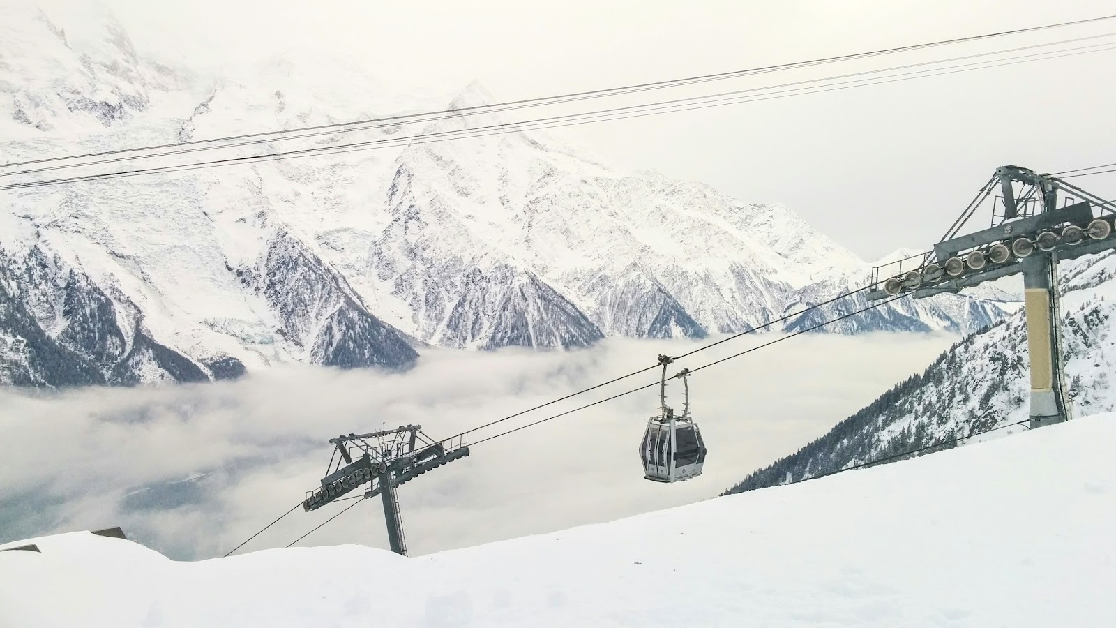 Chamonix is the best place to ski for beginners
