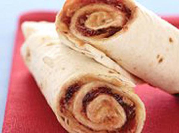 Tim's Pb&j Tortilla Roll Ups Recipe