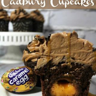 Cadbury Easter Egg Cupcakes