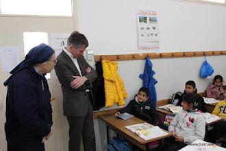 Photo: Observation de cours à l'école latine à Taybeh