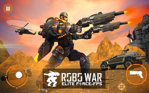 Real Robots War Gun Shoot: Fight Games 2019 1.1.3 screenshots 1