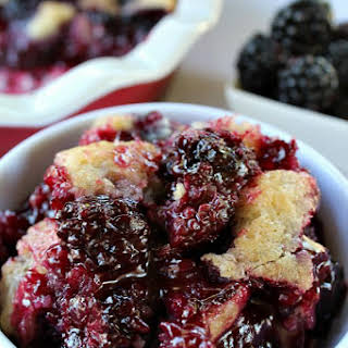 Blackberry Cobbler.