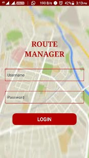 Route Manager - eTechSchoolBus - náhled