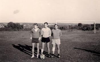 Photo: 20.9.1969  na Campu S lijeva: Dumbović Marijan, Grbac Bruno, Macuka Boris
