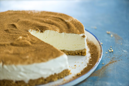 Watch How To Make A Creamy Delicious Milk Tart Ice Cream Cake