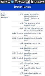 Ônibus Barueri screenshot 1
