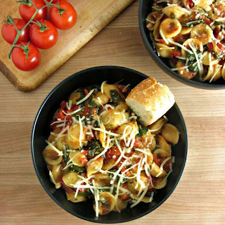 One Pot Italian Orecchiette Soup