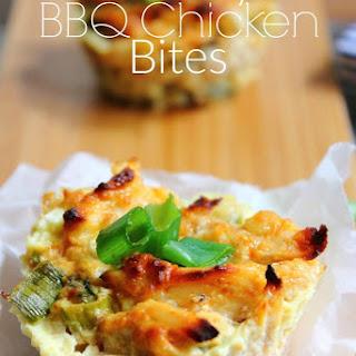 Cheesy BBQ Chicken Bites